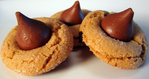 Peanut Butter Kiss Cookie